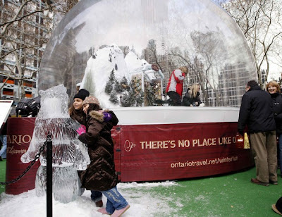 World's Largest Snow Globe