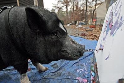 Smithfield, the pig