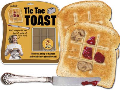 Tic tact toast