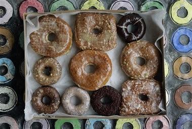 caffeinated doughnuts