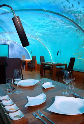 World's first underwater restaurant