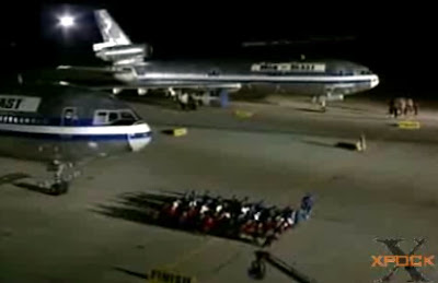Plane pulling contest
