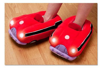 Sports Car Slippers