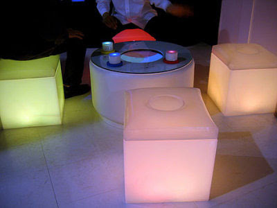 Colour Changing Furniture