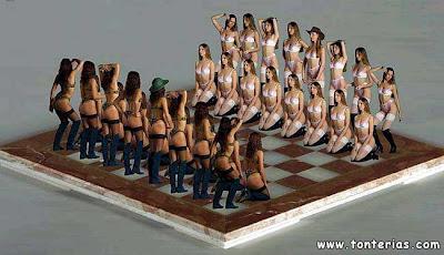 Sexy chess set