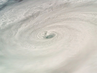 Picture of Hurricane Dean taken from space