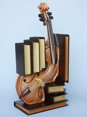 Music-inspired sculptures
