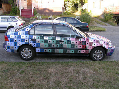 Weigand's Floppy Disk Car