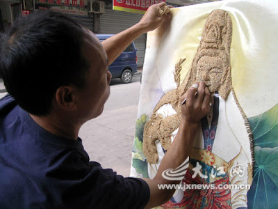 A figure painting of Kwan-Yin