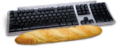 Baguette Computer Wrist Rest