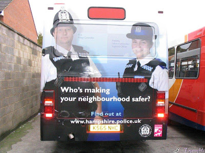 Police advertisement