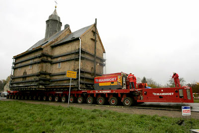 Moving a church