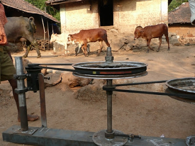 Cow powered laptop