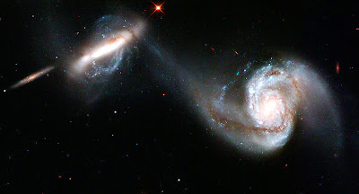 Galaxies's Gravity Dance
