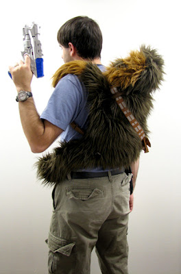 Chewbacca Plush Backpack