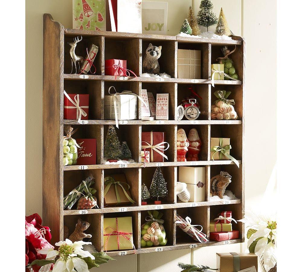 """Милые сердцу штучки: рождественский декор: """"календарь адвент."""