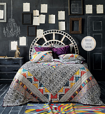 This could be me today chalkboard bedroom for Anthropologie bedroom ideas
