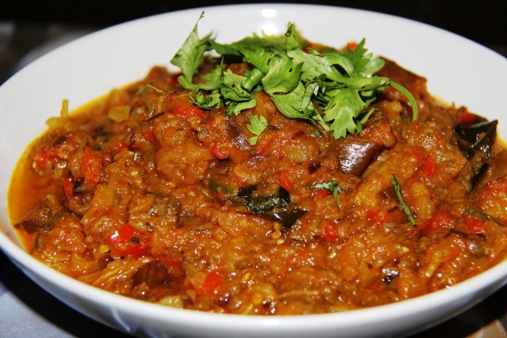 Sinning in singapore recipe baingan bharta north indian for Aubergine cuisine