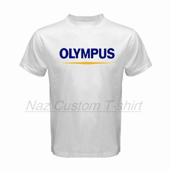 naz custom t shirt olympus logo custom t shirt