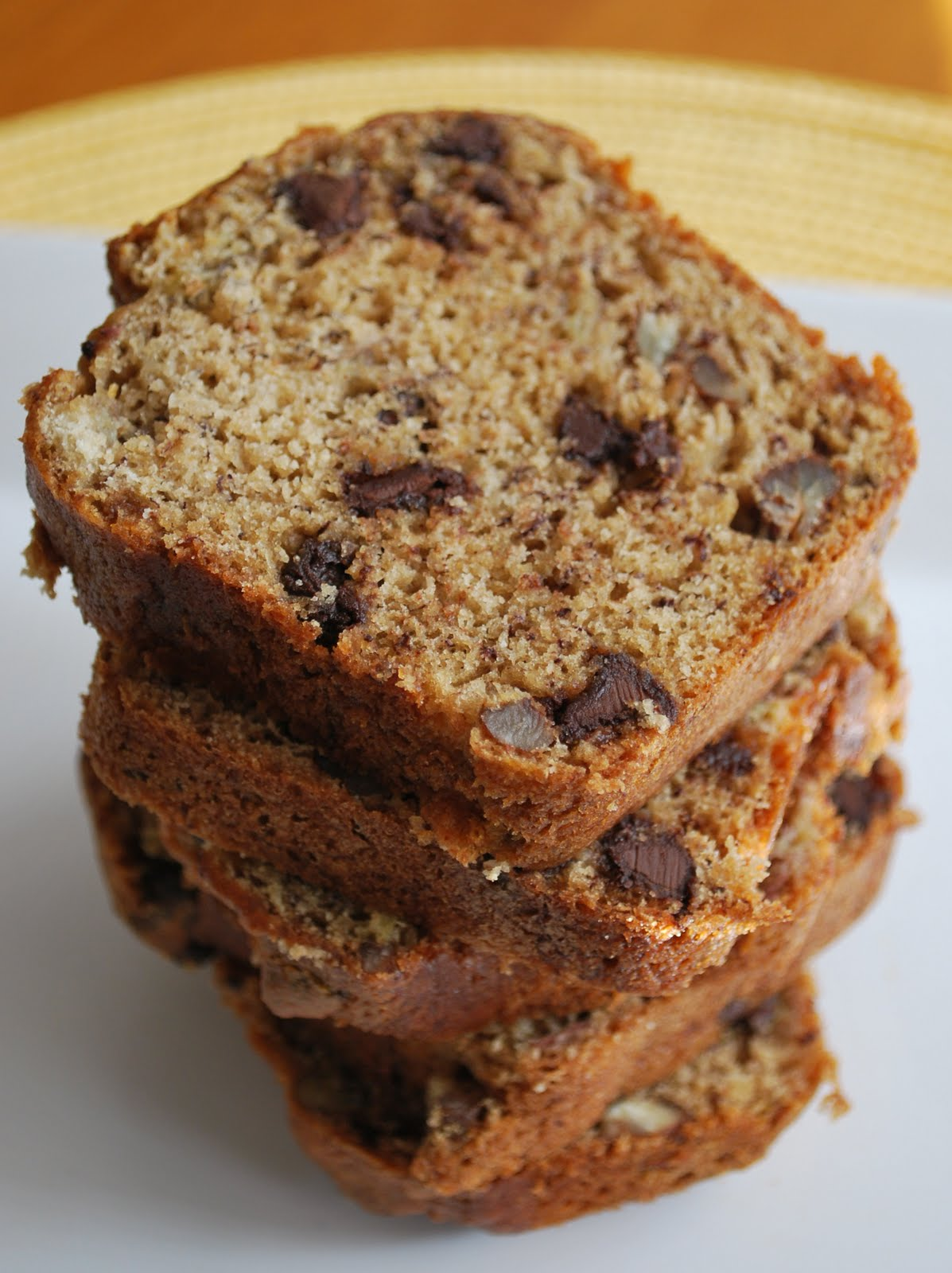 The Capitol Baker: Chocolate Chip Banana Bread