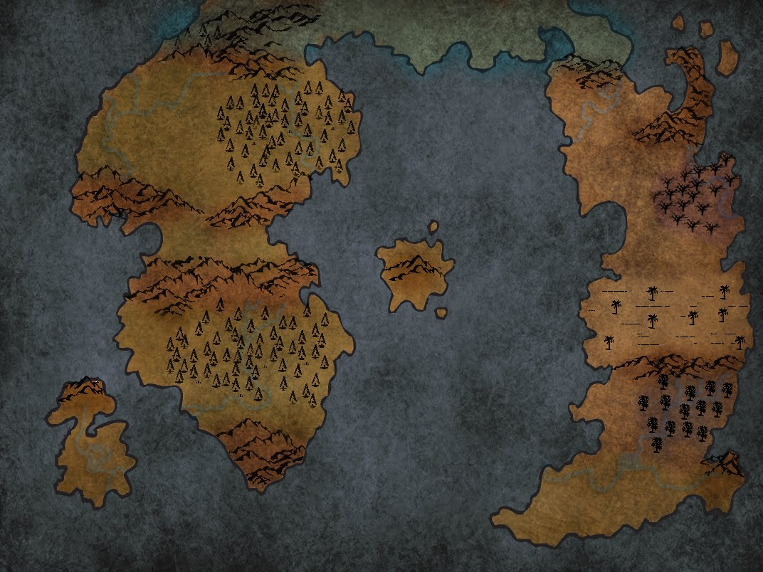 Rogues Do It From Behind: Cartography   Blank World Map 2