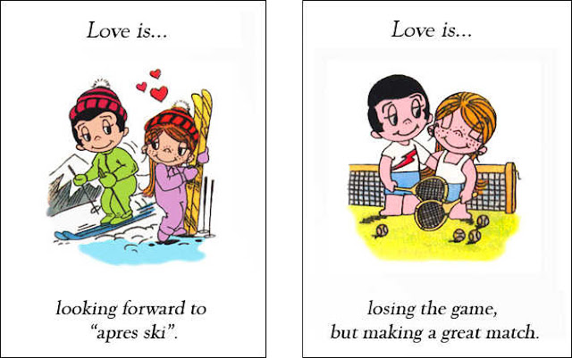According to me, Love is...