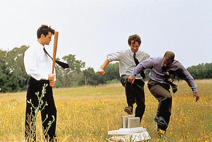 a review of the office space movie Office space is a comedy movie about company workers that hate their jobs it is a workplace comedy written and directed by mike judge and was released in 1999.