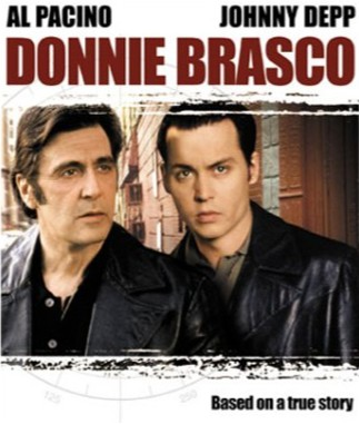 Donnie Brasco (Johny Depp) and Lefty (Al Pacino)