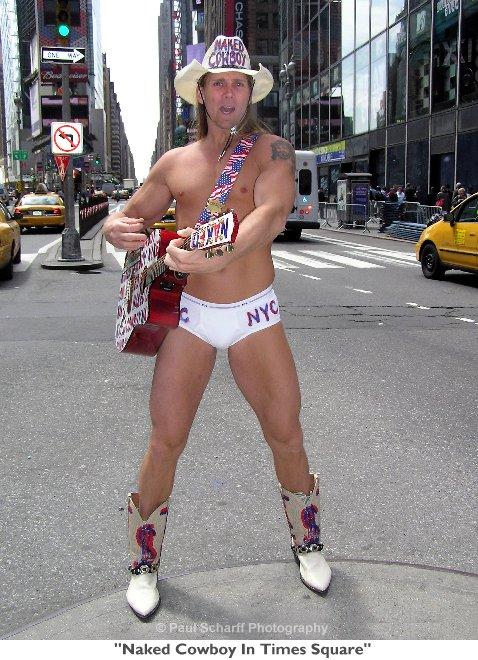 Naked Cowboy - Naked Cowboy Photos - **FILE PHOTOS** Naked