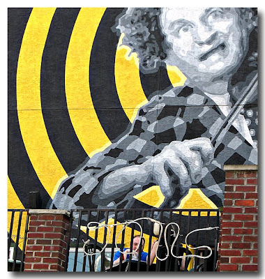 Larry Fine Mural - Philly