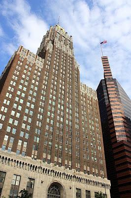 Old Skyscraper, New Skyscraper - Baltimore