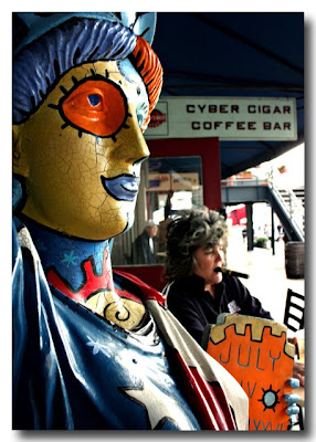 Cyber Cigr Coffee Bar - South Street Seaport NYC