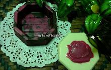 coklat box-hekgon-flower