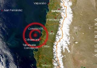 mapa terremoto chile 2010