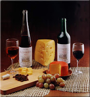vino y queso