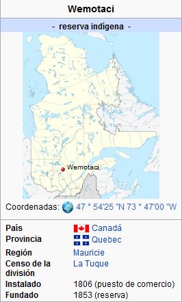 Mapa Wemotaci
