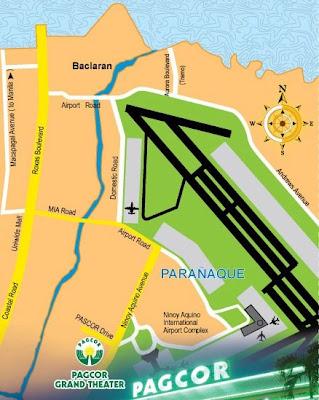 Pagcor Map