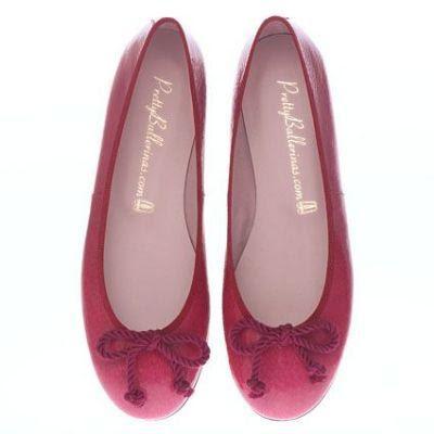 pretty shiny sparkly pretty ballerinas cherry patent. Black Bedroom Furniture Sets. Home Design Ideas