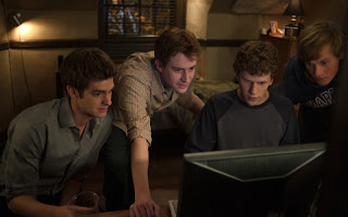 andrew garfield and jesse eisenberg in harvard dorm room in the social network
