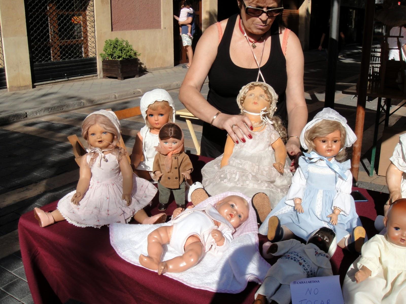 Mu ecas de colecci n feria del juguete antiguo de sant for Ferias barcelona hoy