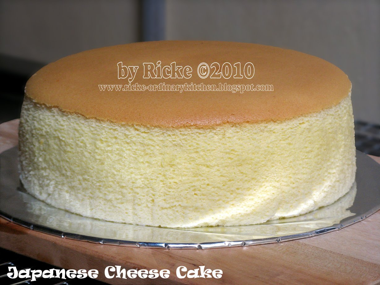 Resep Cheese Cake Ricke Ordinary Kitchen