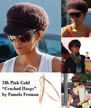 "Halle Berry in Pamela Froman ""Crushed Hoops"""