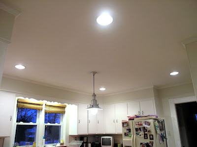 Dover projects recessed kitchen lighting design installation our next project will be to add under counter task lighting which i plan on installing aloadofball Choice Image