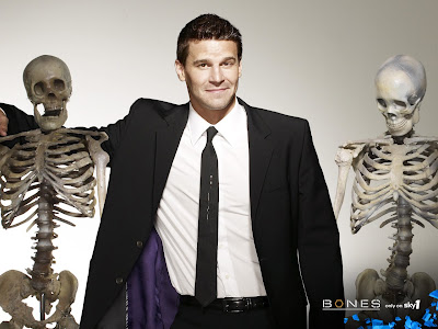 booth and bones. favorite t.v. show Bones.