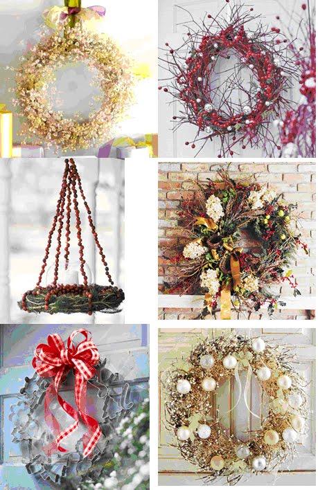 guirlandas 1 Decoração de Natal   Dicas de lindas guirlandas