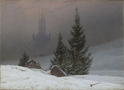 Картина Каспара Давида Фридриха - немецкого художника, одого из крупнейших представителей романтического направления в живописи