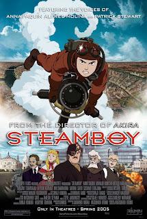 Стимпанк аниме - Стимбой