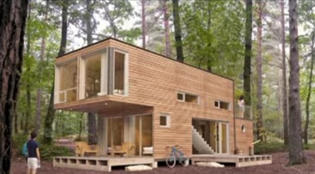 Worldwide tech science recycling home sweet home in a shipping container video - Container homes hawaii ...