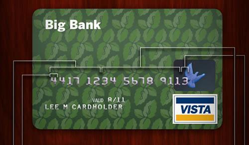 que significan los numeros de tu tarjeta de credito