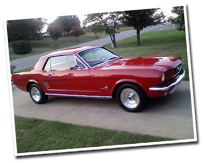 1970 Mustang Coupe. Feature-1966 Mustang Coupe